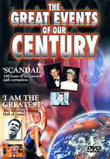 The Great Events of Our Century: Scandal / I Am the Greatest (DVD) **New**