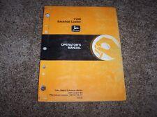 John Deere 710D 710 D Backhoe Loader Owner Operator Maintenance Manual OMT164842