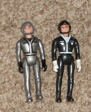 Vintage 1983 Laser Force Pilot Driver Action Figures Made by Gay Toys 1980's