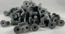 NEW 100 MICRO BLACK CERAMIC ACRO FRAG PLUGS FOR YOUR CORAL PROPOGATION NEEDS