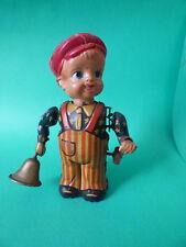 VINTAGE Nikko Toy NEWS BOY 1950s Tin Toy ULTRA RARE!