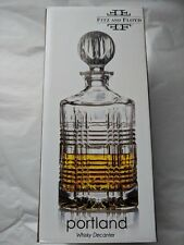 Fritz and Floyd Portland Whisky Decanter 27.0 oz gm1458