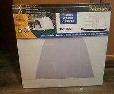 "Petmate Doghouse Door - Dogloo Indigo - Large Size Approx 14""X14"" -  brand New!"