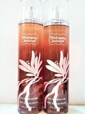 Bath Body Works MAHOGANY TEAKWOOD Fine Fragrance Mist, 8 fl oz, NEW x 2
