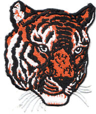 Embroidery Patch: Large Tiger Head