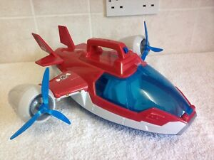 Paw Patrol Mission Air Patroller Toy Plane Vehicle  Sounds & Lights  No Figures