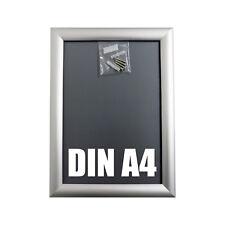 ALU KLAPPRAHMEN DIN A4 Plakatrahmen Wechselrahmen Posterrahmen Rahmen