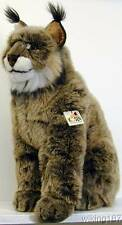 KOSEN Made in Germany NEW Large Sitting Lynx PLUSH TOY