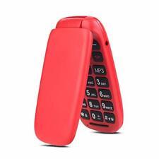 Téléphone Portable a Clapet Débloqué avec Grandes Touches Pour Séniors