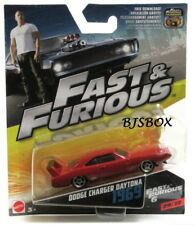 Mattel Fast & Furious Dodge Charger Daytona 1969 Red 29/32 New NIP HTF