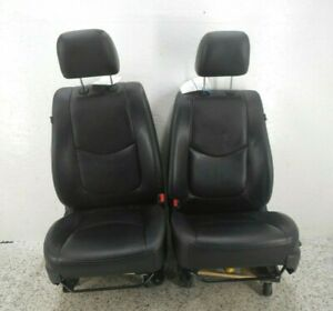 10 11 Kia Soul Front Seat Driver Left Pass Right Pair Manual Height Adjust OEM