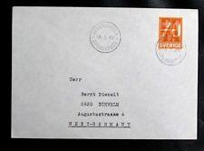THEMATIQUE BATEAUX / LA MARINE : SUEDE ÄLVSNABBEN ÖPLOGSPOST - 18. 1. 1969 - TBE