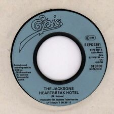 "The Jacksons(7"" Vinyl)Heartbreak Hotel/ Different Kind Of Lady-Epic-S E-VG/VG+"