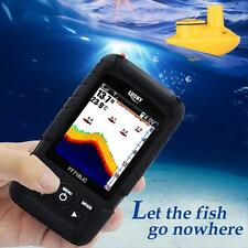 LUCKY Smart 100m Fishfinder Sonar Transducer Wireless Sensor Fish Detector Alarm