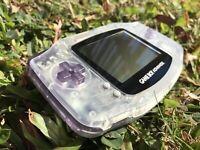 Nintendo Gameboy Advance GBA AGB-001 Orange Handheld Gaming Console Daiei Hawks