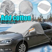 Universal Car Front Window Covers Sunshade Cover Snow UV Shield For Windshield