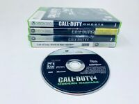 Call of Duty XBox 360 Game Lot of (5) Modern Warfare Ghosts World War & More!
