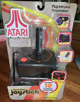 Atari 2600 Plug & Play Joystick Controller Video Game System Includes 10 Games