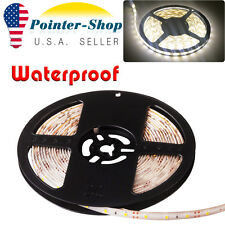 5M 300leds Waterproof LED Strip Light Tape Decor 3528 SMD Warm White DC 12V US
