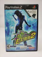 Dance Dance Revolution Extreme 2 PS2/case manual