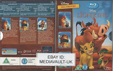 THE LION KING TRILOGY DISNEY BLU RAY BOXSET - NEW AND SEALED - UK RELEASE