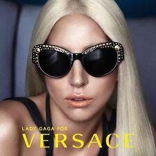 RARE New LADY GAGA VERSACE Limited Edn #STUDSLADIES Sunglasses VE 4269 GB1/87