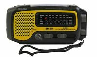 Used Kaito KA350 Solar Crank AM FM Shortwave Weather Radio