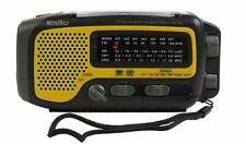 Used Kaito KA350 Solar Crank AM FM Shortwave Weather Radio