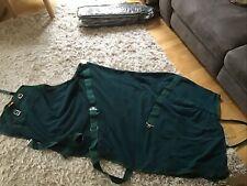 6'3 Green Fleece Rug