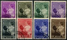 Belgium 1937 SG#787-794 Queen Astrid Public Utility Fund MH/Used Set #D74524