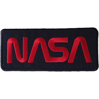 NASA Iron Sew On Patch Badge for Astronaut Space Fancy Dress Costume Jacket Bag