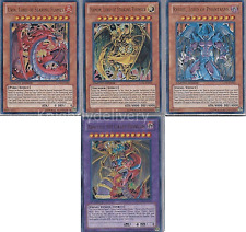 Yugioh Authentic Kagemaru Final Deck - Armityle - Hamon - Uria - Raviel 43 Cards