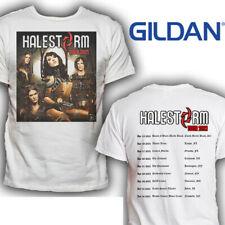 HALESTORM TOUR 2021 t-shirt WHITE Gildan S-2XL TEE