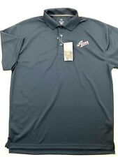 Mens L Polo Shirt Reno Aces MLB Navy Blue Antimicrobial Wicking Rugby NWT