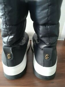 JUICY COUTURE ASOS BLACK LABEL PLATFROM SNOW ANKLE BOOTS 5 BUY IN GOOD FAITH