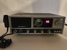 Vintage Uniden Zachary T. Cb Base Unit Radio with Original Microphone