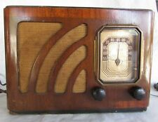 Vintage 1920s/1930s Philco Valve Tube Radio Wood Case WORKING Part NO. 37-5505