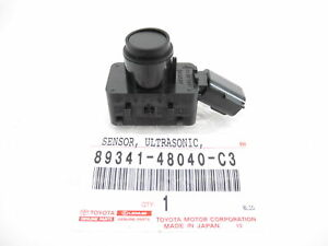 Genuine Toyota Lexus 89341-48040-C3 Park Sensor Ultrasonic Prius RX350 RX450h