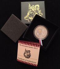 1 RARE 2011 $5 Silver Republic of Liberia Coin Kremlin Series ART ROUND BAR OZ