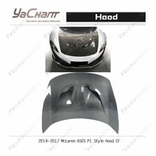 Carbon Fiber Bonnet Fit For 2011-2015 McLaren 650S P1 Style Hood Glossy