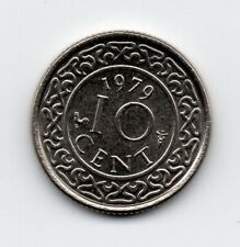 Suriname - 10 Cent 1979