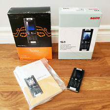 2007 Sanyo S1 Cell Phone, Working, SOLO Mobile, With Original Box & Manuals