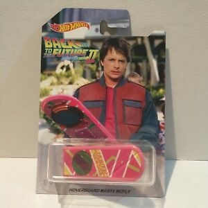Custom hot wheels BTTF back to the future hoverboard Marty Mcfly