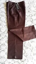 Katies Size 12 Chocolate Brown Women's Ladies Ankle Pants BNWT