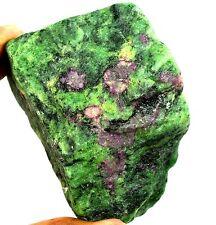 2335 Ct Natural Uncut Untreated Greenish Red Ruby Zoisite Gemstone Rough Ebay
