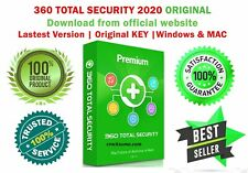 360 Total Security 2020 for 1 Year | 1 Device BEST security Windows OS & Mac OS