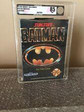 1990 Batman Sunsoft The Video Game, brand new Sega Genesis VGA 85+ RARE