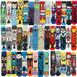 Adult's anime cartoon long socks Cosplay embroidery warm Socking basketball sock