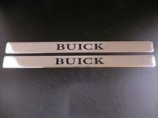 BUICK chrome door sills sill plate