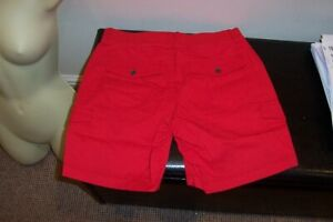 NEW LADIES LOVELY MID RISE FIT CARGO SHORTS SIZE 20